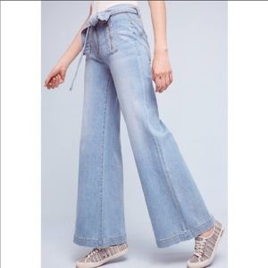 NWT anthropologie pilcro flare/bell bottom jeans